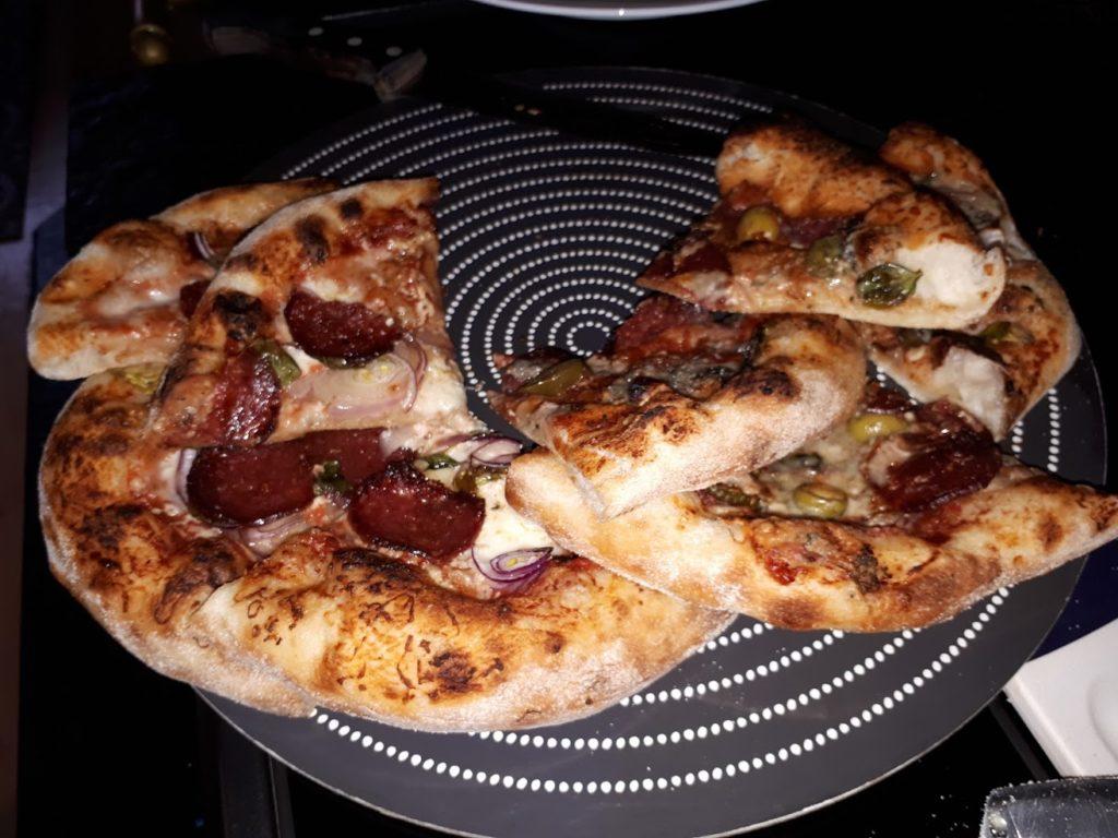 Ray's hjemmelagede pizza